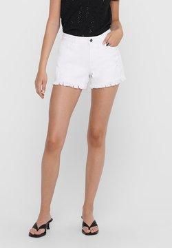 JDY - JDYLEE - Denim shorts - white