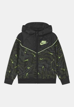 Nike Sportswear - GLOW IN THE DARK WINDRUNNER - Treningsjakke - black