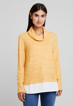 TOM TAILOR - SWEATSHIRT COSY - Strickpullover - merigold yellow