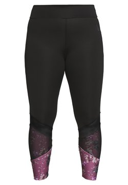Active by Zizzi - AWISTFULL 7/8 - Tights - wistful mauve