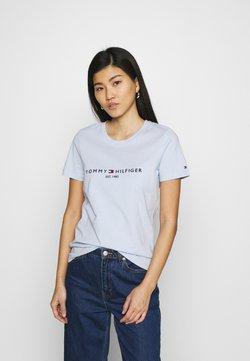 Tommy Hilfiger - REGULAR TEE - Print T-shirt - blue