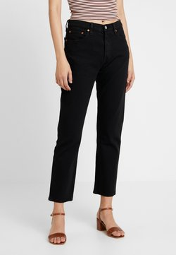 Levi's® - 501® CROP - Straight leg -farkut - black heart