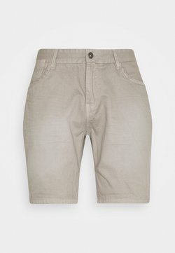 Brave Soul - BLEACH - Jeans Shorts - washed grey
