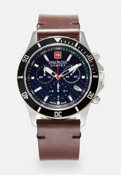 Swiss Military Hanowa - FLAGSHIP RACER - Montre à aiguilles - green/black/brown