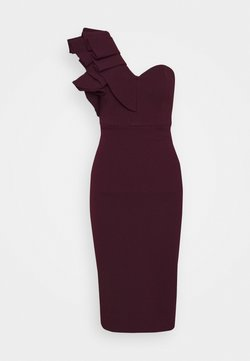 Mossman - FOREVER MINE DRESS - Cocktailkleid/festliches Kleid - wine