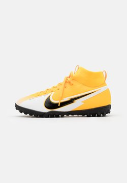 Nike Performance - JR MERCURIAL 7 ACADEMY TF UNISEX - Hiekkakengät - laser orange/black/white/laser orange