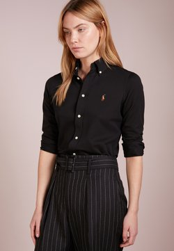 Polo Ralph Lauren - HEIDI LONG SLEEVE - Hemdbluse - black
