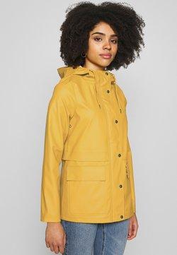 ONLY Petite - ONLTRAIN SHORT RAINCOAT - Parkatakki - yolk yellow