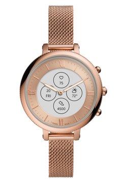 Fossil Smartwatches - MONROE HYBRID HR - Montres connectées - rose gold