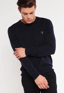 GANT - CREW - Pullover - navy