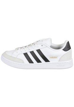 adidas Performance - GRAND COURT - Sneaker low - footwear white / core black / orbit grey