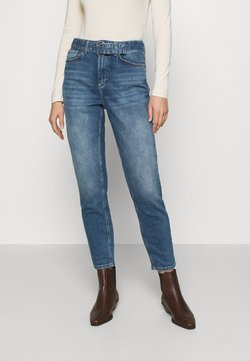 ONLY - ONLVENEDA LIFE MOM BELT - Jeansy Relaxed Fit - dark blue denim