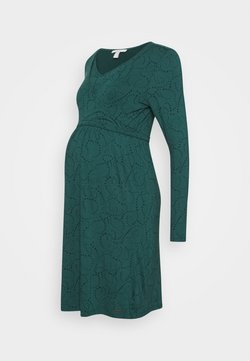 Esprit Maternity - DRESS NURSING - Jerseykleid - hay green