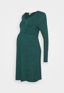 Esprit Maternity - DRESS NURSING - Vestido ligero - hay green