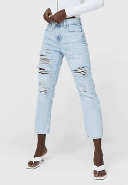 Stradivarius - Jeans Relaxed Fit - blue