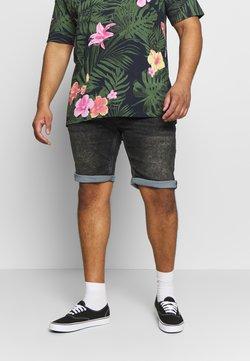 Jack´s Sportswear - Jeansshort - black mud