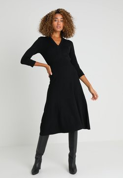 Noa Noa - ESSENTIAL - Vestido de punto - black