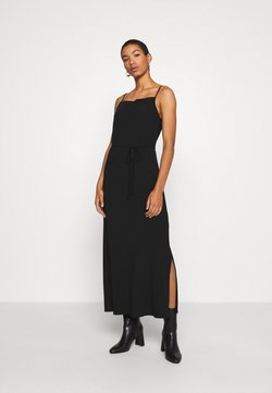 Calvin Klein - CAMI DRESS - Maxikleid - black