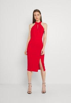 WAL G. - JAYNE LEE HALTER NECK DRESS - Cocktailkleid/festliches Kleid - red