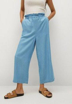 Mango - OKA-H - Jeans a zampa - azul claro