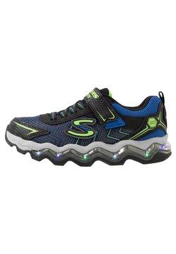 Skechers - TURBOWAVE - Sneaker low - black/blue/lime