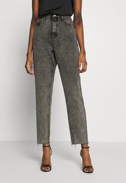 Missguided - RIOT RAW MOM JEAN - Relaxed fit jeans - washed grey