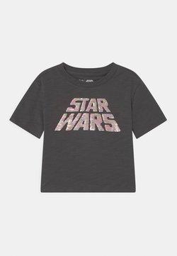 GAP - GIRL STAR WARS - T-Shirt print - soft black