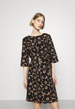 Marimekko - ILMAAN MINI UNIKKO DRESS - Etuikleid - brown/black