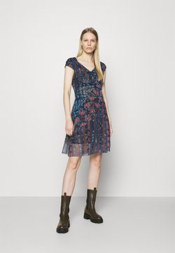 Desigual - Vestido informal - blue