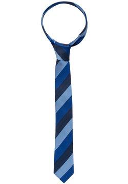 Eterna - Krawatte - hellblau/marine