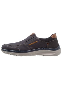 Rieker - Loaferit/pistokkaat - navy