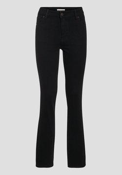 Cache Cache - MIT HOHEM BUND - Jeans Bootcut - denim noir