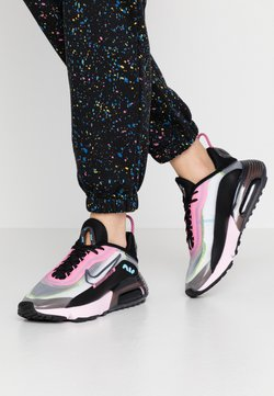 Nike Sportswear - AIR MAX 2090 - Sneaker low - white/black/pink foam/lotus pink/volt/blue gaze