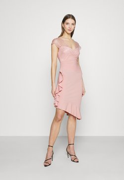 Sista Glam - LYNDIA - Cocktailkleid/festliches Kleid - pink