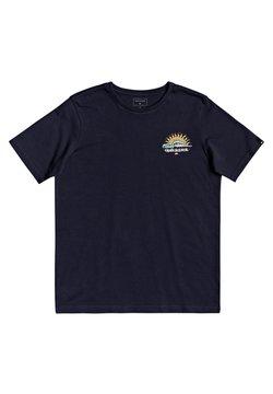 Quiksilver - KOOL ENOUGH - T-shirt print - parisian night