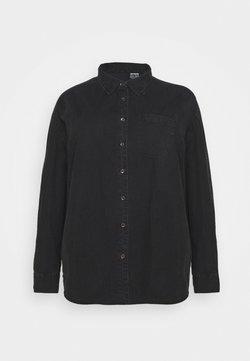 Cotton On Curve - CURVE LONGLINE  - Chemisier - washed black