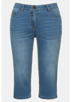 Ulla Popken - Jeansshort - light blue