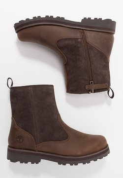 Timberland - COURMA LINED BOOT - Schnürstiefelette - dark brown