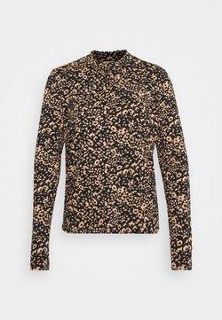 Cream - DIBA TURTLENECK - Langarmshirt - beige/black
