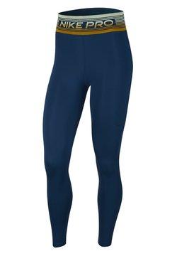 Nike Performance - Tights - valerian blue/black