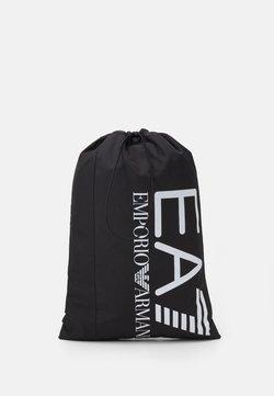 EA7 Emporio Armani - HOLDALL - Sporttasche - black/white