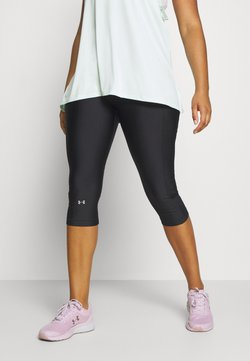 Under Armour - HIGH RISE CAPRI - 3/4 Sporthose - black
