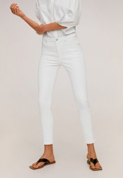 Mango - ISA - Jeans Skinny Fit - white