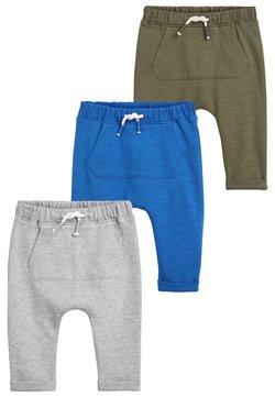 Next - 3 PACK JOGGERS - Pantalones deportivos - blue