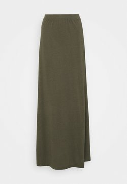 Anna Field - Jupe longue - dark green