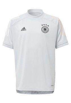 adidas Performance - DEUTSCHLAND DFB TRAINING SHIRT - Equipación de clubes - grey