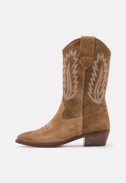 Alpe - ROSE - Cowboy/Biker boots - cognac