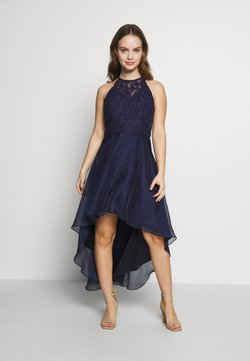Chi Chi London Petite - STARA DRESS - Vestido de fiesta - navy