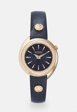 Versus Versace - TORTONA - Watch - rosegold-coloured/blue