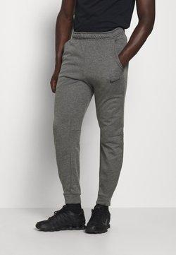 Nike Performance - THRMA TAPER - Jogginghose - charcoal heather/black